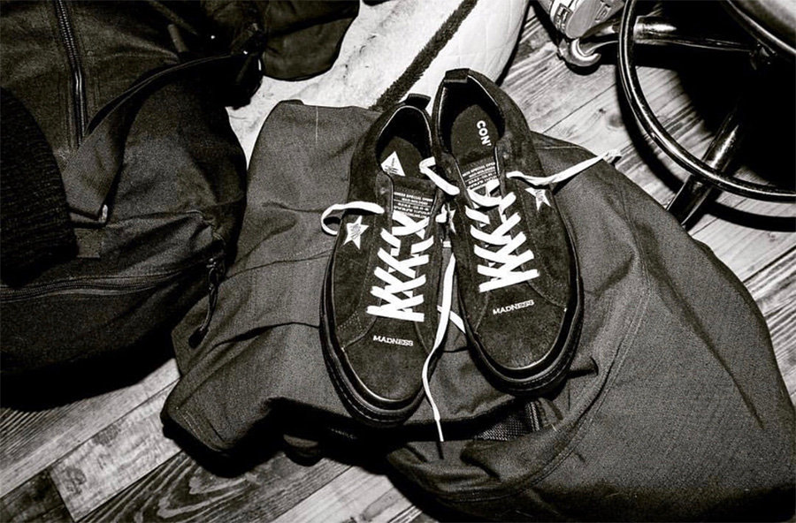 Converse,MADNESS  余文乐晒出 MADNESS x Converse 全新联名,释放新信号!