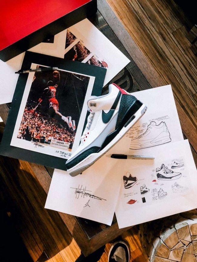 "Air Jordan 3,AJ3,Tinker NRG,A  细节来啦!Air Jordan 3 ""Tinker""  NRG 实物抢先看"