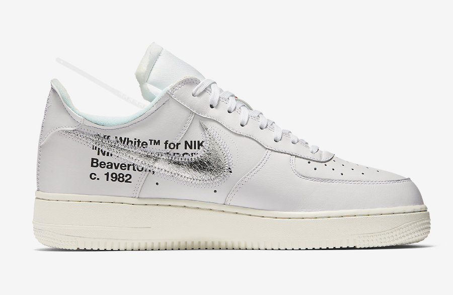 OFF-WHITE,Nike,Air Force 1 Low 會場獨佔 OFF-WHITE x Air Force 1 或將迎來大範圍市售