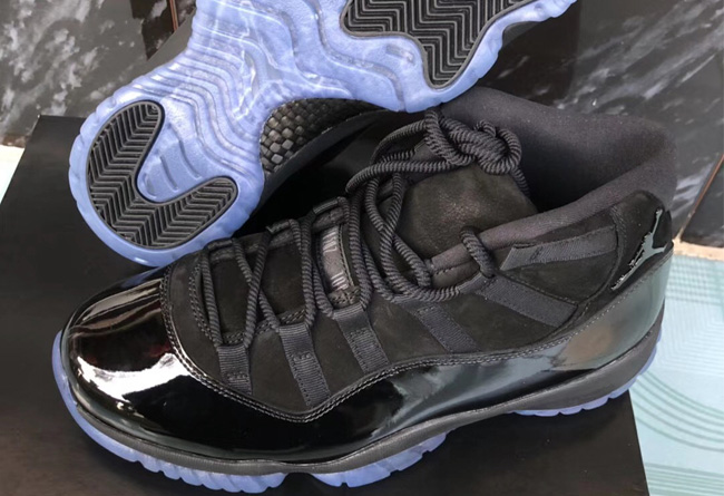 AJ11,Air Jordan 11,378037-005  实物图释出!黑色 Air Jordan 11 鞋底也有大亮点!