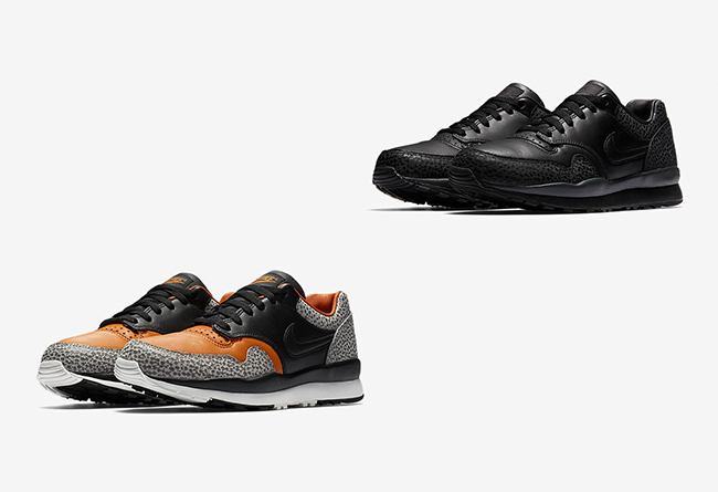 Nike,Air Safari  经典大理石纹理!两双 Air Safari 明日官网正式上架