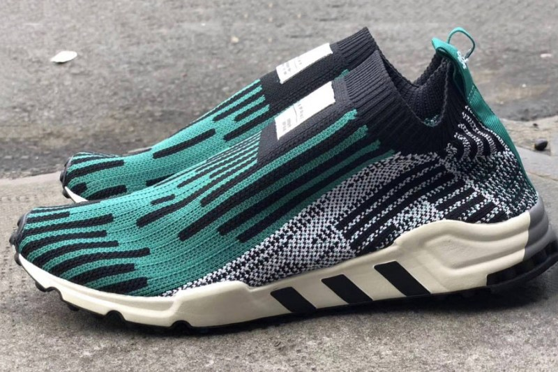 adidas,EQT  EQT 家族出现袜套式鞋型!三双全新配色实物曝光