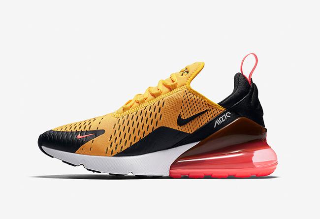 Nike,Air Max 270,AH8050-004  李小龙配色!黑黄 Air Max 270 全新配色即将发售!