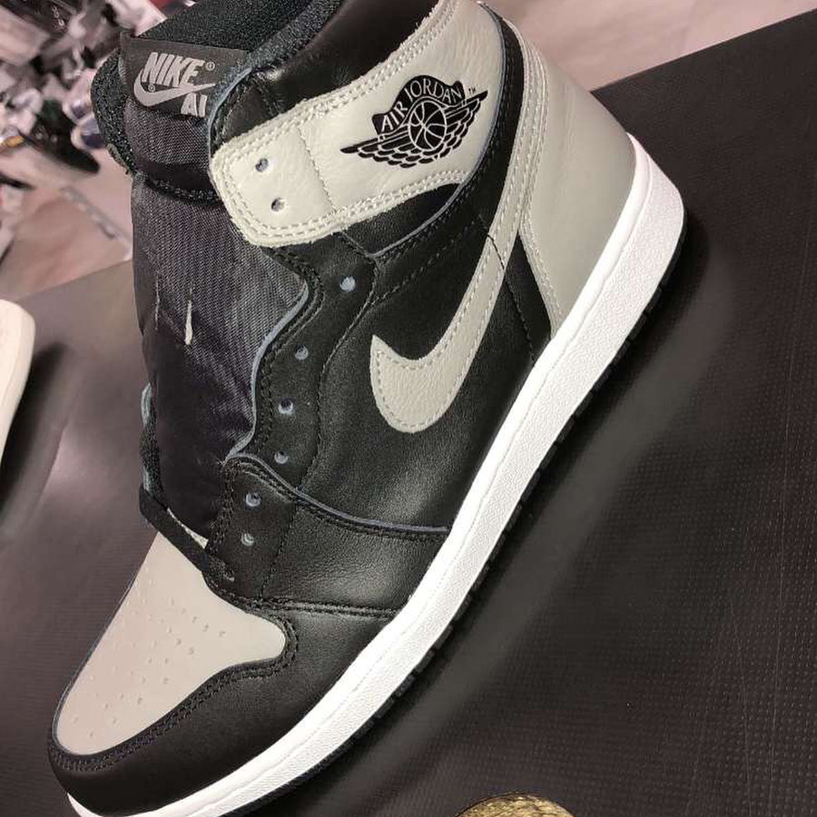 AJ1,Air Jordan 1,555088-013 皮質感人!Air Jordan 1 「Shadow」 將於 4 月 14 日發售