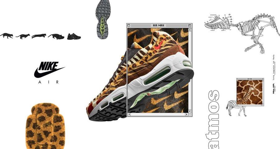 Nike,Air Max,atmos  动物元素合体!联名 atmos x Air Max 本周发售!
