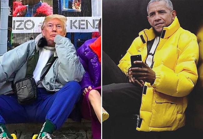 近期,新鞋,上,脚,都,帅气,逼人,快,看看,哪双,  川普和奥巴马比拼球鞋穿搭!卡戴珊都插不上话...
