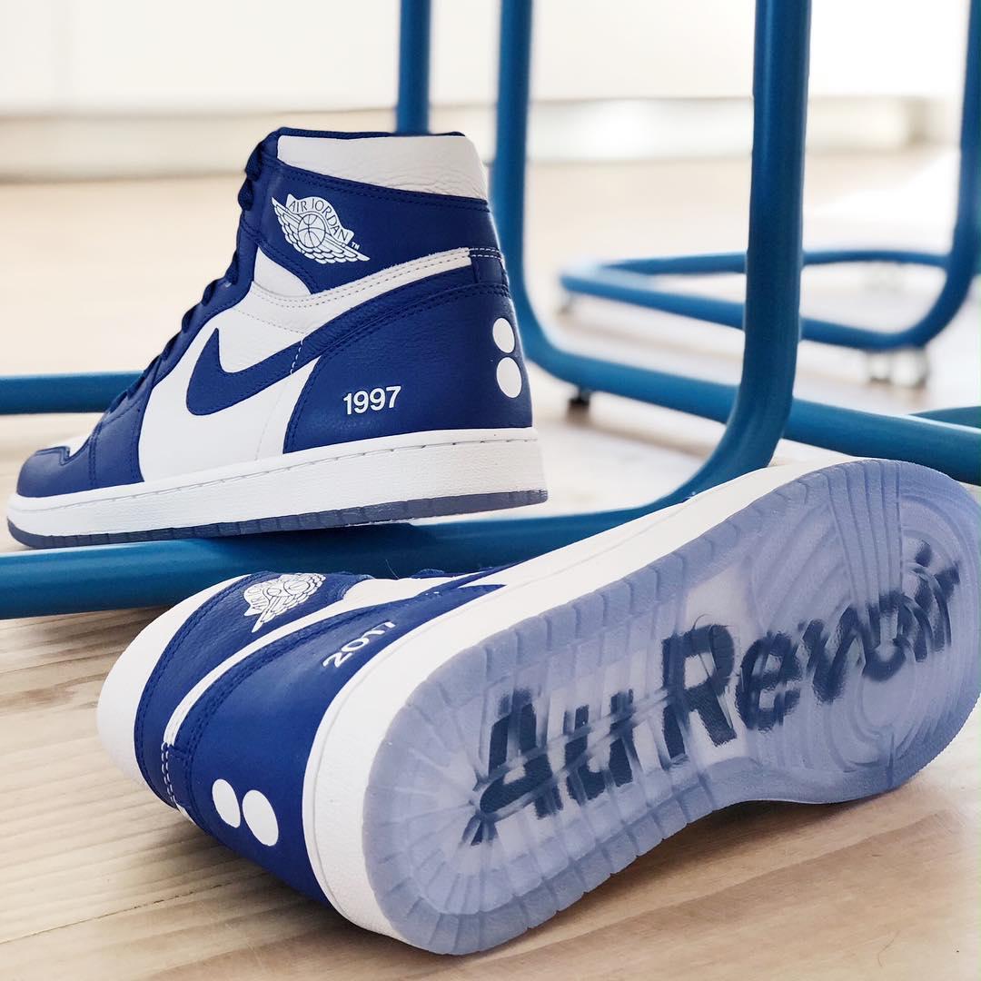 AJ,Air Jordan 1,colette  独一无二的球鞋珍品!官方打造专属 AJ1 赠予 colette店铺