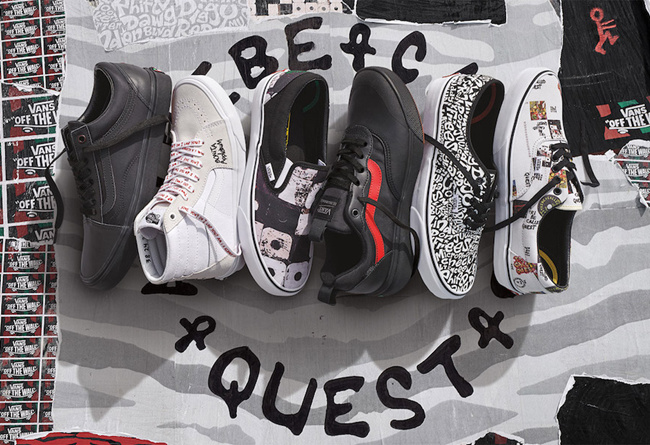Vans,A Tribe Called Quest  超丰富趣味细节!A Tribe Called Quest x Vans 联名系列欣赏