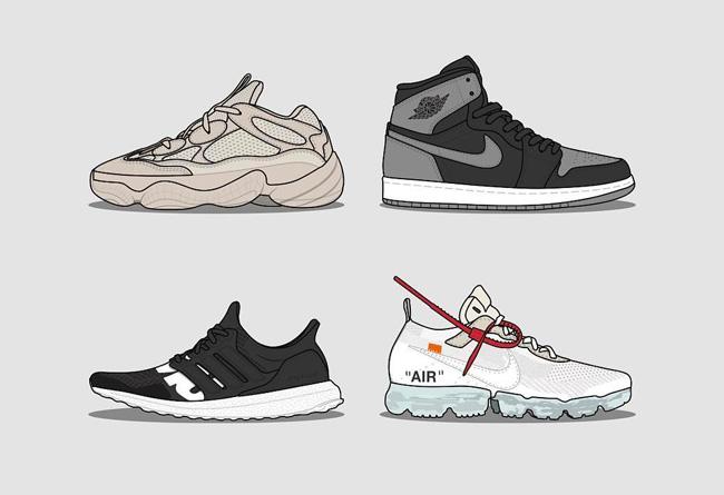 Yeezy 500,VaporMax,AJ1,Air Jor AJ1 这个周末发售了这么多重磅球鞋,你都入手了哪双?