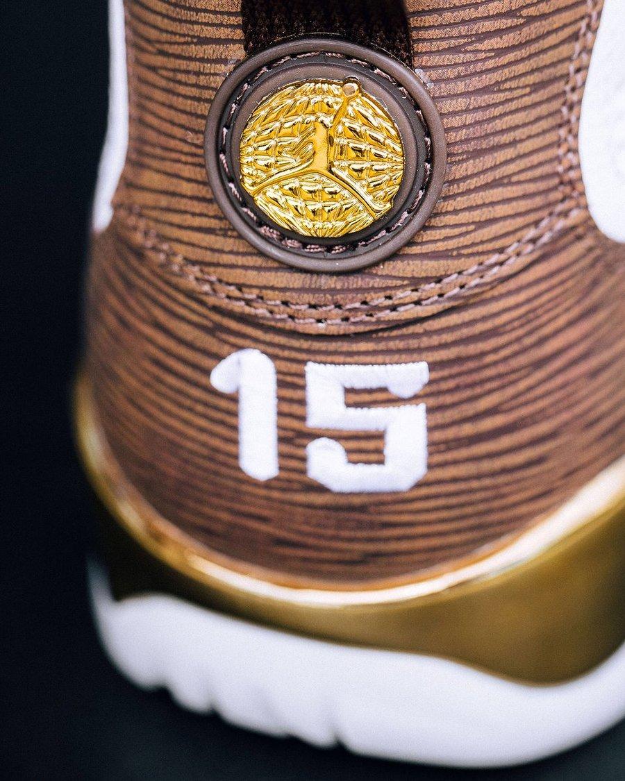 """AJ9,Air Jordan 9,302370-122  安东尼亲自展示!奢华顶级 AJ9 """"Mop Melo"""" 本月底发售"""