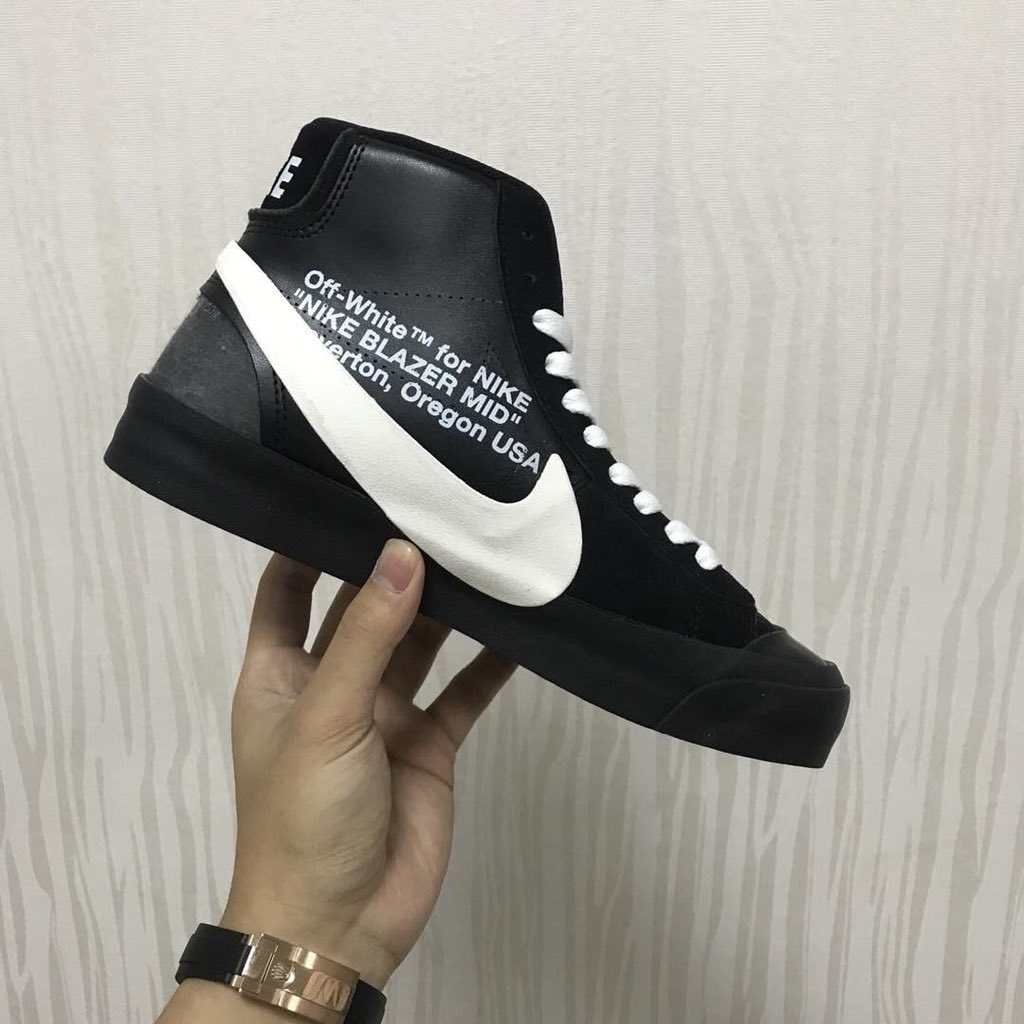 OFF-WHITE, Nike, Blazer, AA3832-7 Physical first exposure!  Three pairs of OFF-WHITE x Blazer released for sale in July