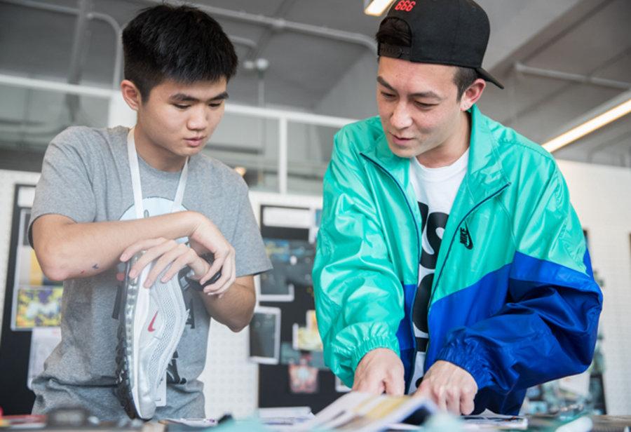 """Nike,Air max  冠希亲自执教!Nike """"ON AIR"""" 全球设计大赛上海站精彩回顾!"""