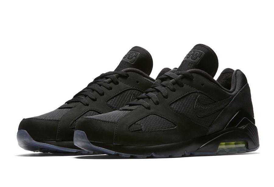 Nike,Air Max 180  魔鬼鱼材质加持!新品小黑鞋 Air Max 180 即将发售