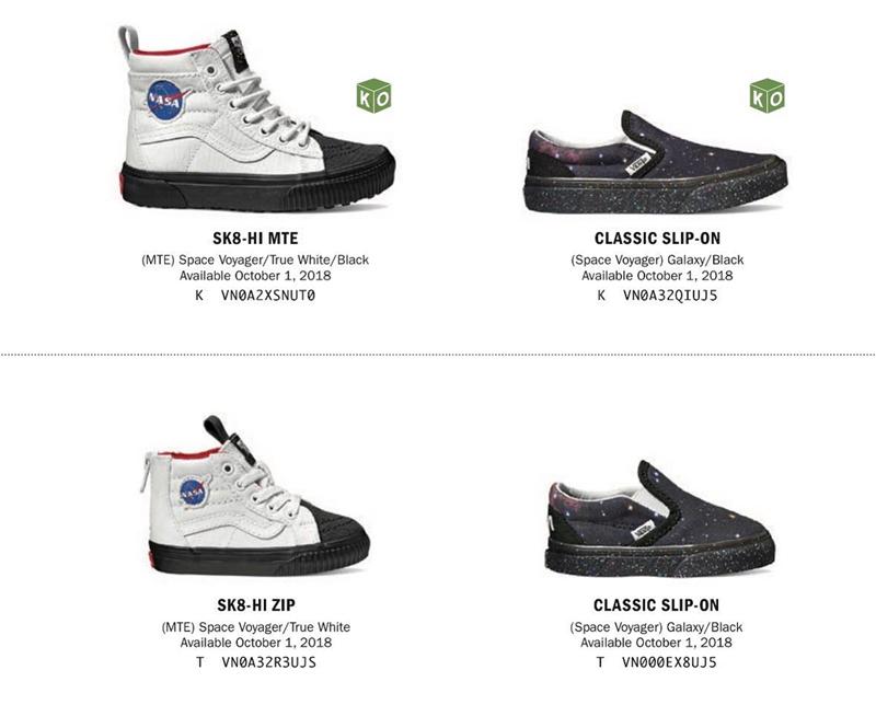 Vans,Old Skool,NASA  滑板鞋的航天梦!Vans x NASA 联名系列产品曝光