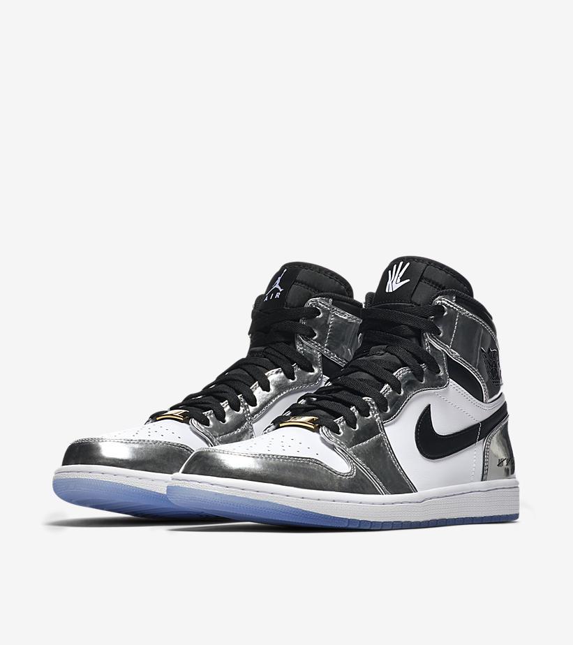 Air Jordan 1,AJ1,WMNS,Silver T  黑银脚趾 AJ1 实物泄露!发售日期也随之曝光!
