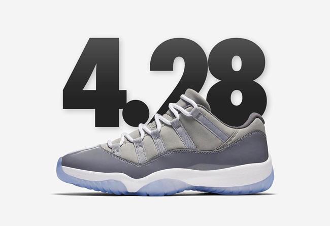 528895-003,AJ11,Air Jordan 11 528895-003 下周的人气主角!酷灰 Air Jordan 11 Low 上脚效果到底如何