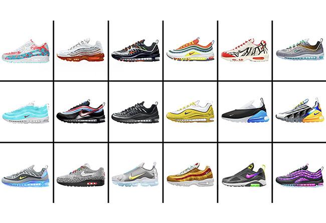 Nike,ON AIR,Air Max Day  Nike 球鞋设计大赛 18 双入围作品!能否发售由你决定