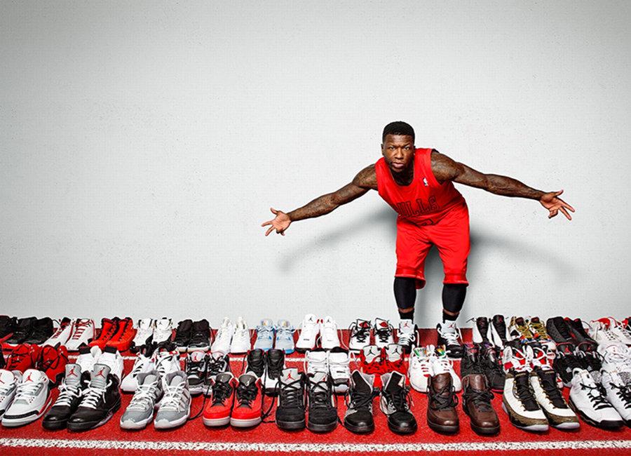 特别专题,Nick Young,Nate Robinson,  要比重磅球鞋上脚!这四位 NBA「大神」谁也不服谁!