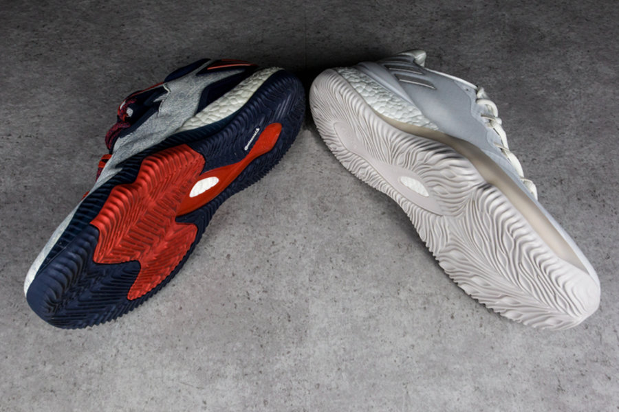adidas,Crazylight Boost 2018  与 2016 版有何区别?Crazylight Boost 2018 实物开箱