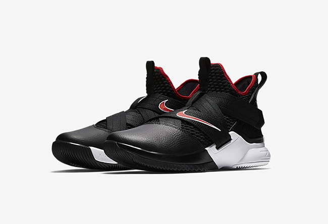 Nike, Soldier 12,AO4053-001  经典黑红主题!全新配色 Soldier 12 即将发售