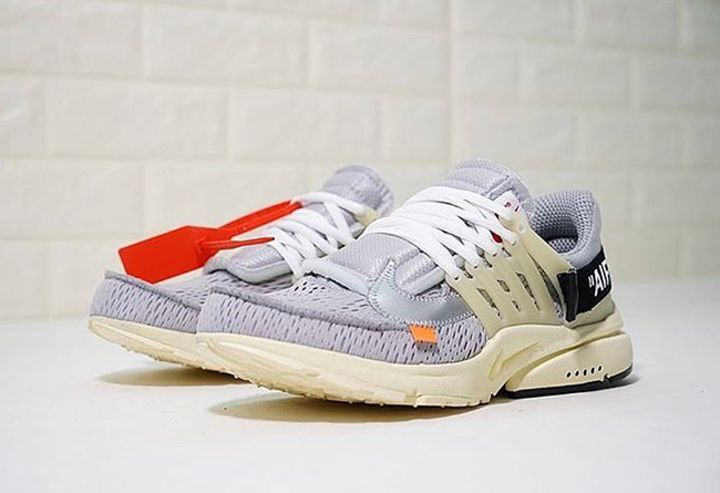 OFF-WHITE,Nike,Air Presto  OFF-WHITE x Air Presto 还有灰色!今年的配色竟然这么多!