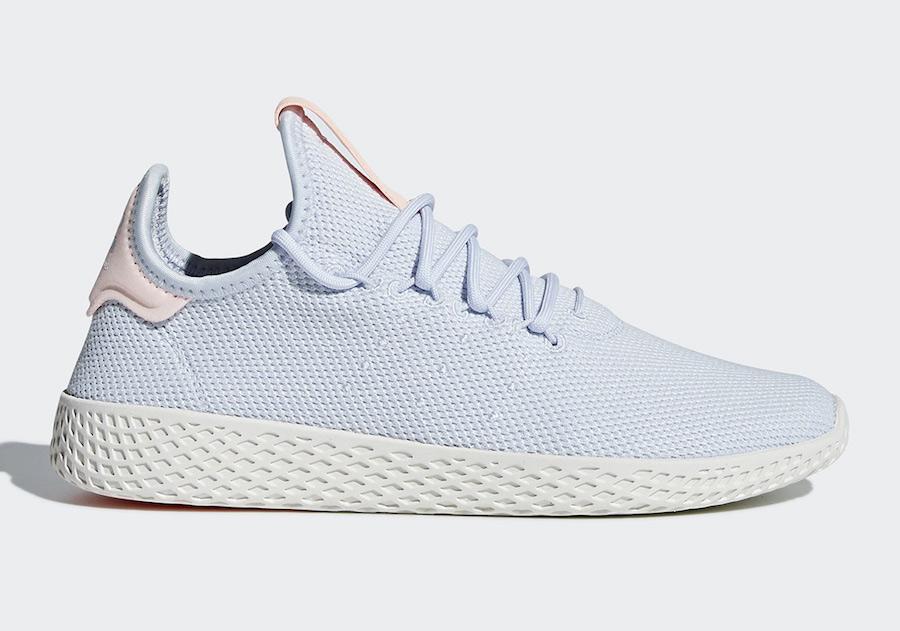 adidas,Tennis Hu,Pharrell Will  浅色系魅力!三双 adidas Tennis Hu 全新配色下月发售
