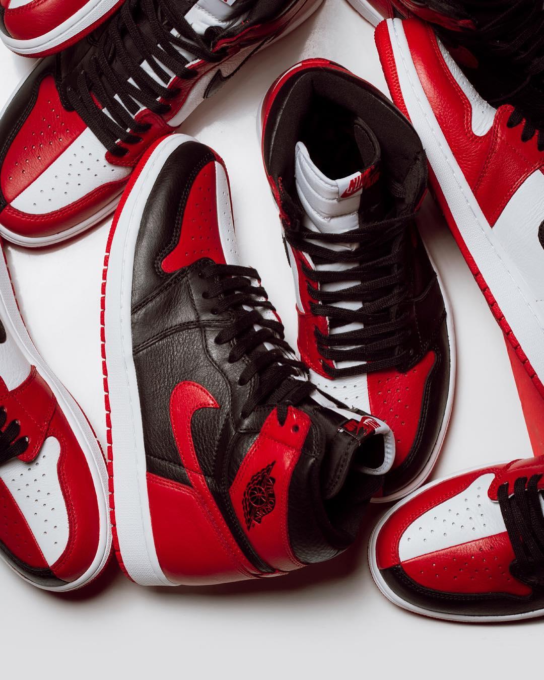 Air Jordan 1,AJ1,Homage To Hom  本周重磅降临!鸳鸯 Air Jordan 1 明早官网上架