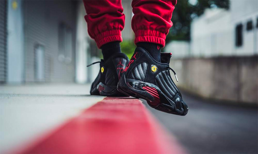"487471-003,AJ14,Air Jordan 14, 487471-003 AJ14 最后一投 20 周年!Air Jordan 14 ""Last Shot"" 下周四正式发售"