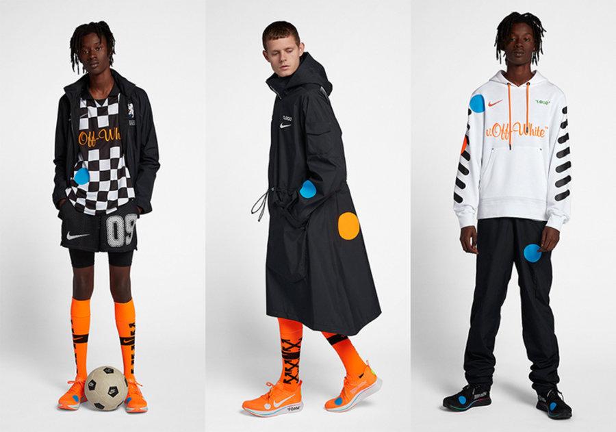 OFF-WHITE,Nike,明星,上脚,发售  冠希和周董晒出的 OFF-WHITE 全新联名,你更喜欢哪件单品?