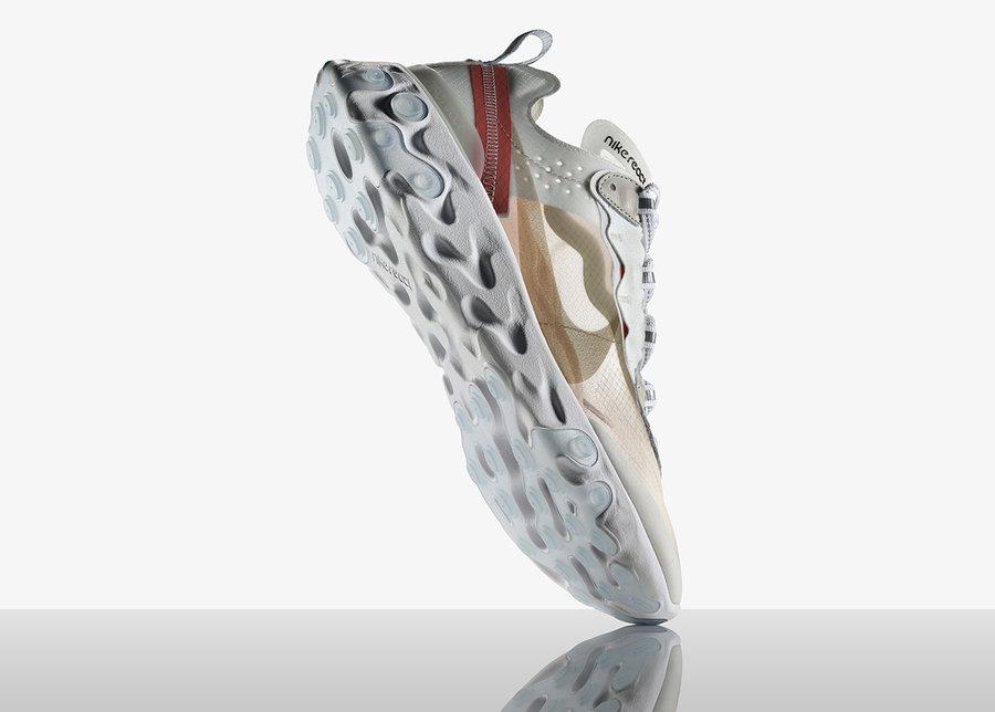 Nike,React Element 87,资讯  全新中底设计!未来感十足的 React Element 87 将于本月发售!