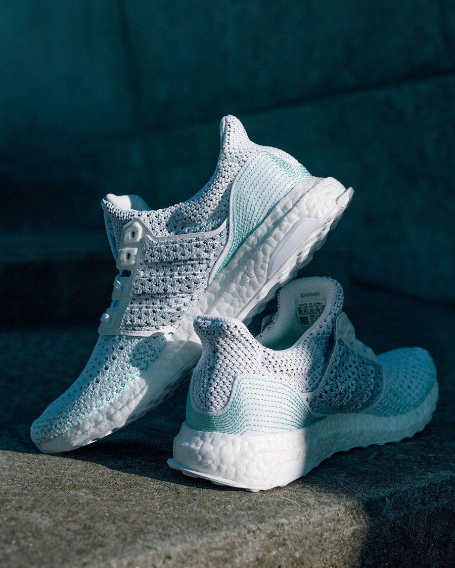 adidas,Ultra Boost,Parley  夏季清爽配色!海洋联名 Parley x adidas Ultra Boost LTD 发布!
