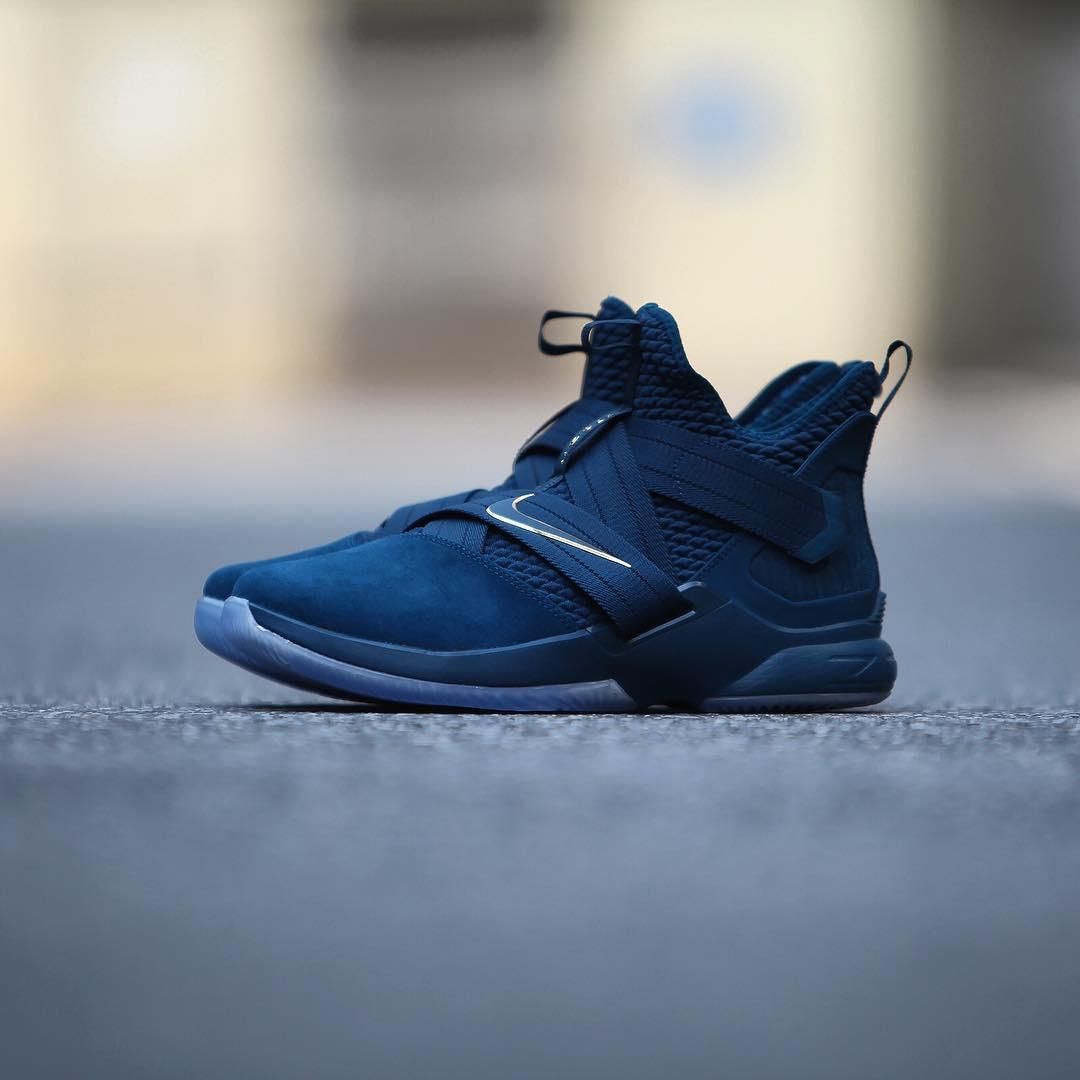 Nike,Soldier 12,AO4055-400,开箱  纯粹清爽湖蓝!全新配色 Soldier 12 本周发售