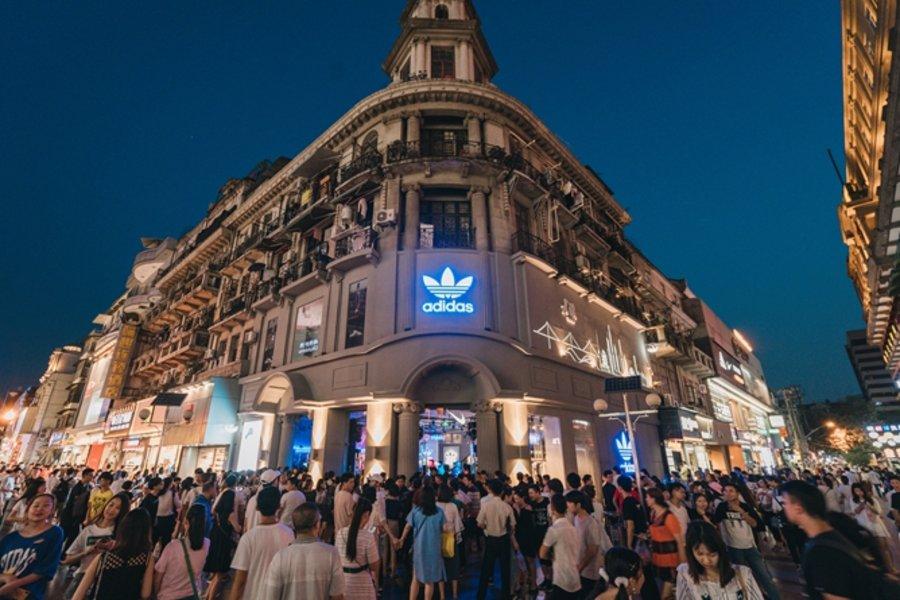 水原,希,子,大玩,传统文化,adidas,Original  水原希子大玩传统文化!adidas Originals 江汉路店正式开幕