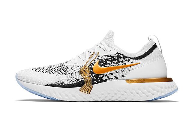Nike,Epic React Flyknit,上脚,明星  勇士队专属!冠军版 Nike Epic React Flyknit 曝光