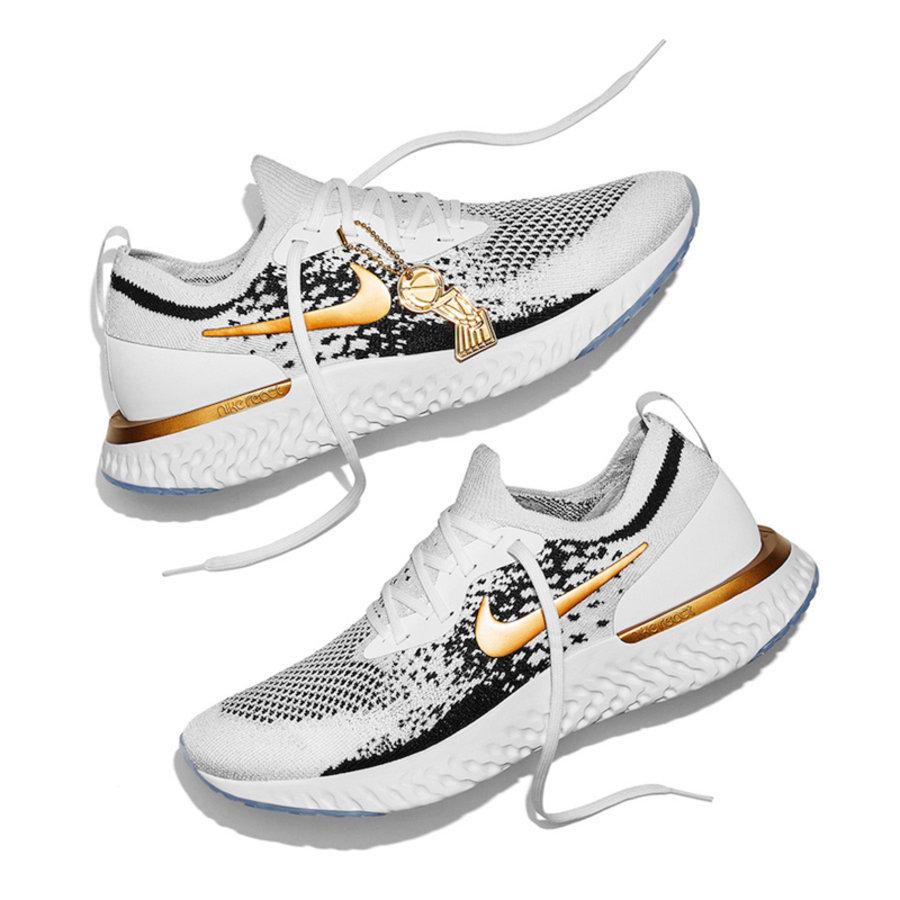 Nike,Epic React Flyknit,上腳,明星 勇士隊專屬!冠軍版 Nike Epic React Flyknit 曝光