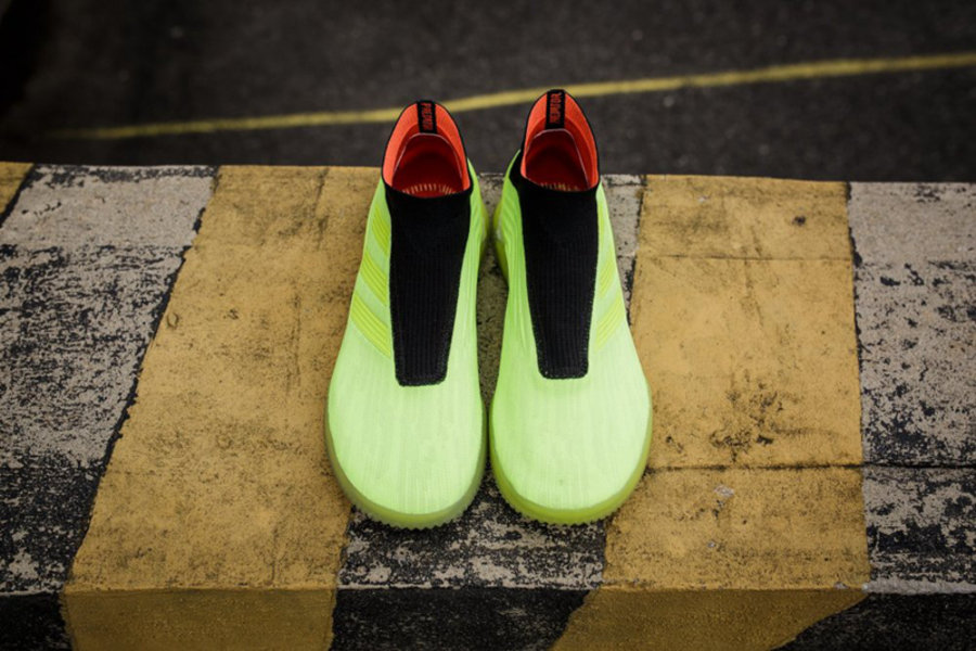 adidas,Predator Tango 18+ TR,开  全掌 Boost!adidas Predator Tango 18+ TR 实物美图欣赏