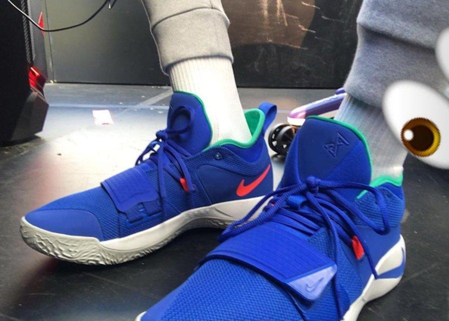 Nike,PG2.5  绑带设计回归!Nike PG2.5 实物曝光