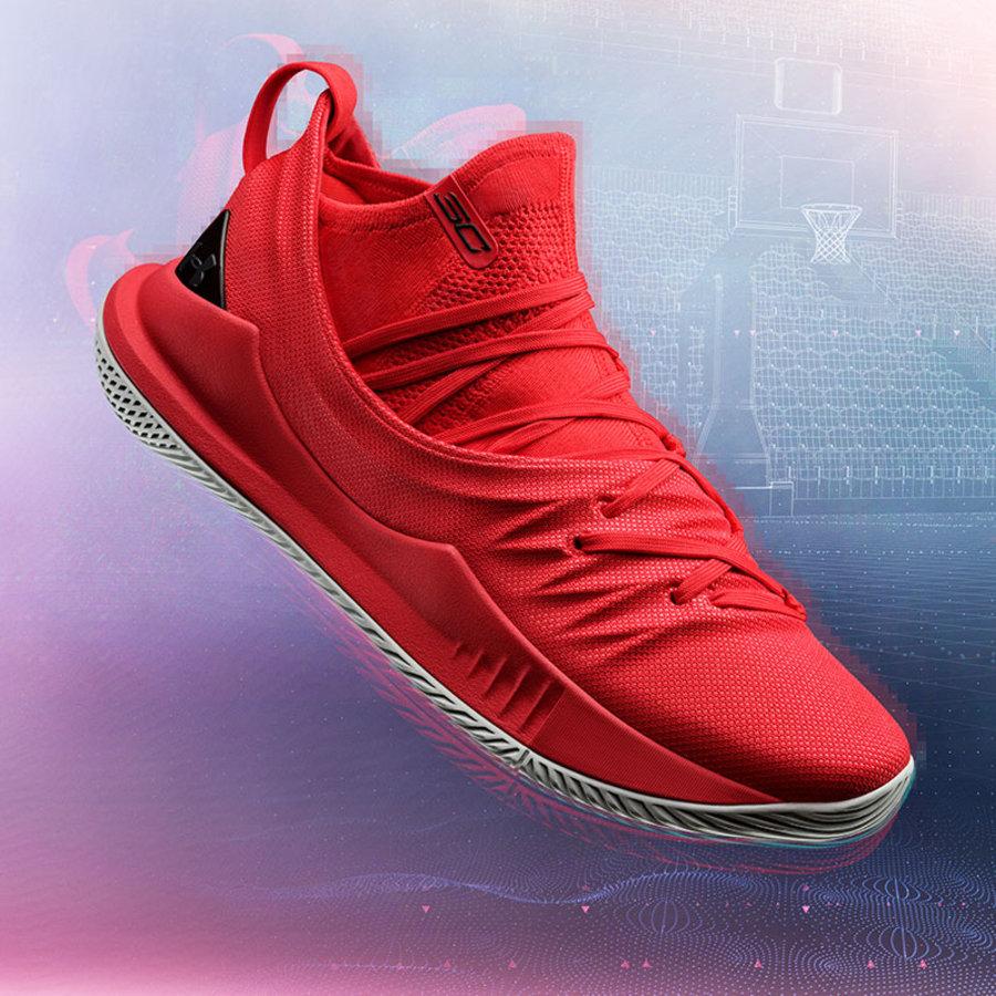 发售,Under Armour,UA,Curry 5  UA 发布库里中文宣传片!推出全新配色 Curry 5 战靴