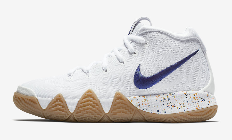 "Nike,Kyrie 4,943806-100,发售  发售日期确定!德鲁大叔 Kyrie 4 ""Uncle Drew"" 官图释出!"