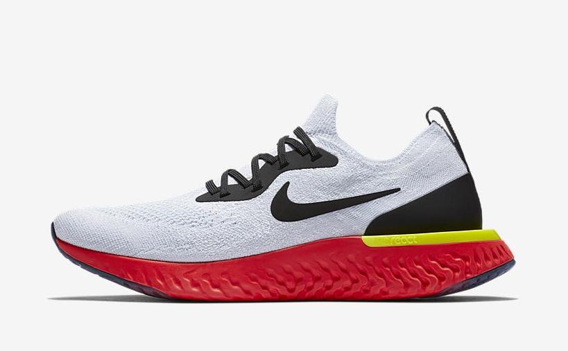 紅底鞋來了!這雙全新Nike Epic React絕對「熱力十足」!