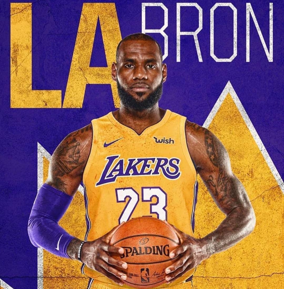 LeBron James在湖人隊對金塊高清精彩剪輯