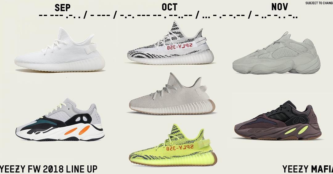 adidas,Yeezy Boost 350 V2  3 个月 7 双 Yeezy!下半年还有一大波要抢哦!