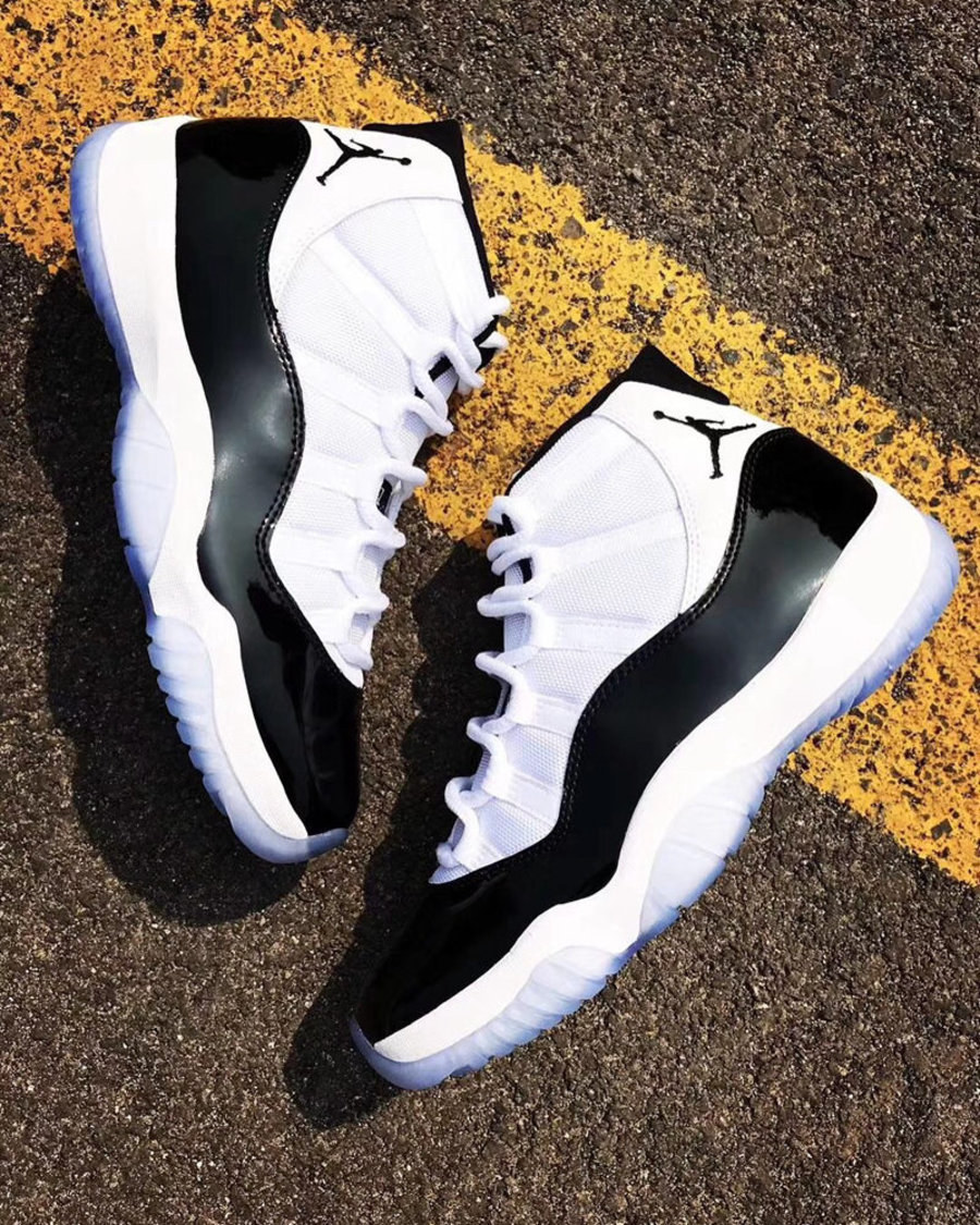"""Air Jordan 11,AJ11,发售,开箱,Conco  意料之外!年底 Air Jordan 11 """"Concord"""" 或将采用 OG 鞋盒包装"""