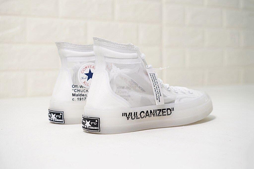 Converse,OFF-WHITE,Nike  帆布鞋身?!疑似 OFF-WHITE x Converse V2 新图曝光