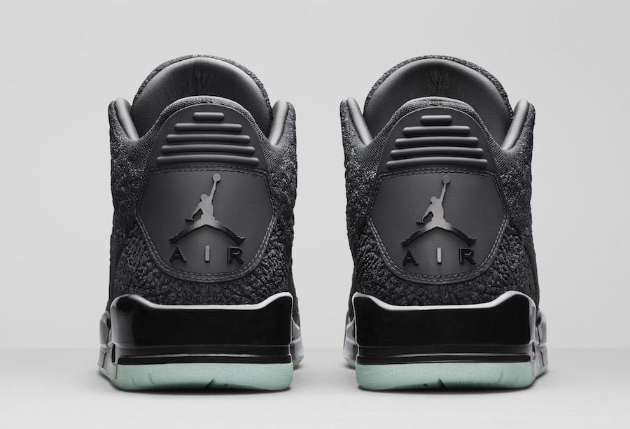 Air Jordan 3,AJ3,Flyknit,发售,AQ  夜光大底!你们关心的 Air Jordan 3 FK 发售日期确定了!