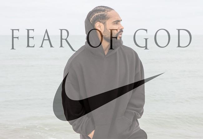 Fear Of God,Nike,Air Fear Of G  今年最神秘联名!Fear Of God x Nike 系列秋冬季正式登场