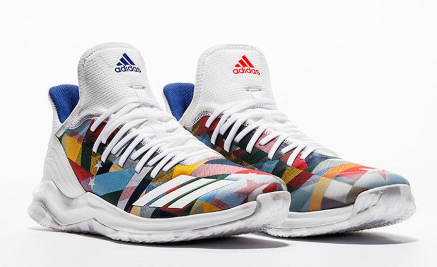 adidas,Icon Trainer  独特印花鞋面!MLB 全明星配色 adidas Nations Pack 即将发售