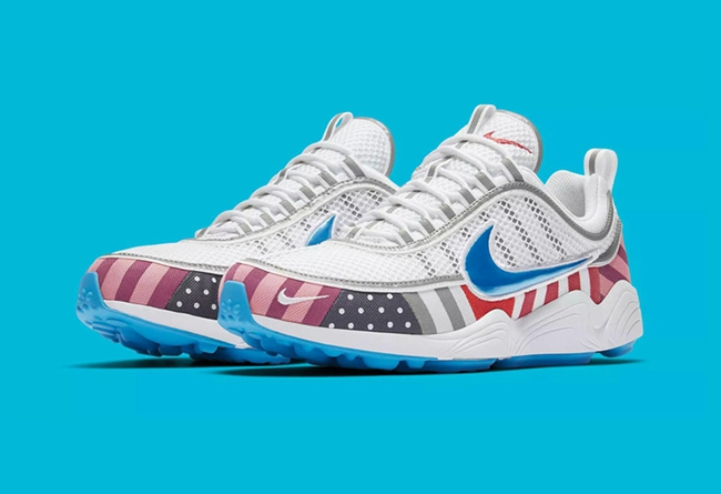 Parra,Nike,Nike Air Zoom Spiri  诠释艺术设计! Parra x Nike Air Zoom Spiridon 本月底发售