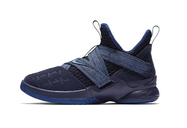Nike,Lebron Soldier 12,发售  深蓝海洋主题!LeBron Soldier 12 BG 全新配色即将发售