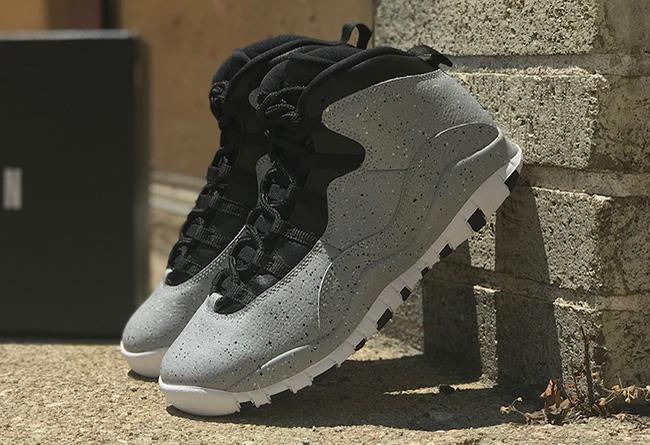 """Nike,Air Jordan 10,310805-062,  水泥泼墨!Air Jordan 10 """"Cement"""" 最新实物图曝光"""
